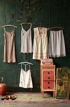 decorating your walls with your wardrobe - yes or no?