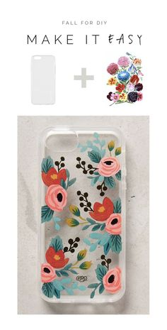 Make it Easy | Floral Tattoo Phone Case (for Christmas) (via Bloglovin.com )
