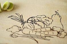 vyrobkyprestastie / doska na krájanie - zeleninová