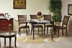 STÓŁ WIKTORIA CIEMNY ORZECH Outdoor Furniture Sets, Outdoor Decor, Teak, Home Decor, Decoration Home, Room Decor, Interior Decorating