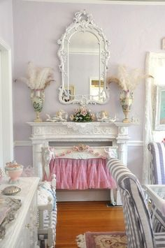 22 Best Shabby Chic Fireplaces Images On Pinterest Decoracion - Decoracion-shabby-chic-vintage