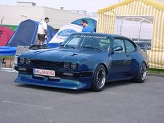Capri x-pack looks like my old one but with a drop snoot - Ford Capri - Classic Cars British, British Sports Cars, Ford Classic Cars, Car Ford, Auto Ford, Chevy Nomad, Mercury Capri, Ford Sierra, Ford Capri