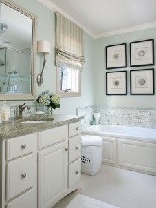 Spa Like Coastal Bathroom …  Pinteres… Impressive Spa Bathroom Remodel Review