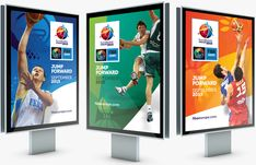 Brand New: New Logo and Identity for EuroBasket 2015 by Brandia Central
