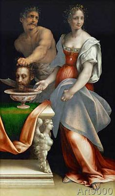 Cesare da Sesto - Salome with the head of John the Babtist