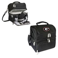 Georgia Bulldogs Pranzo Lunch Tote - Black - $56.99