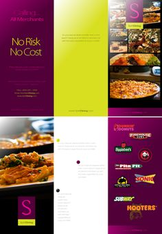 Spirit Dining Brochure by Sheikh Naveed, via Behance