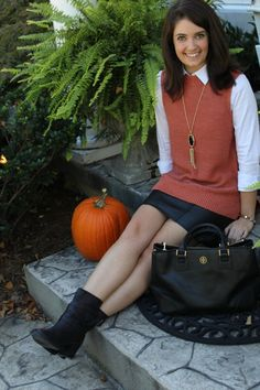 fall work wear - what to wear to work in the fall - fall layering - Work Wednesday (X) | How 2 Wear It