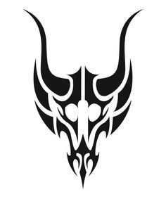 Simple Tribal by on DeviantArt Tribal Drawings, Tribal Tattoo Designs, Tribal Tattoos, Cool Symbols, Magic Symbols, Seal Tattoo, Motorcycle Paint Jobs, Line Artwork, Bild Tattoos