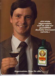 Jägermeisterwerbung in HÖR ZU vom 13-05-1983