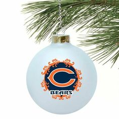 Chicago Bears 3 1/4'' Large Ornament