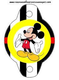 Resultado de imagen para adorno para bombillas cumpleaños de mickey mouse para imprimir