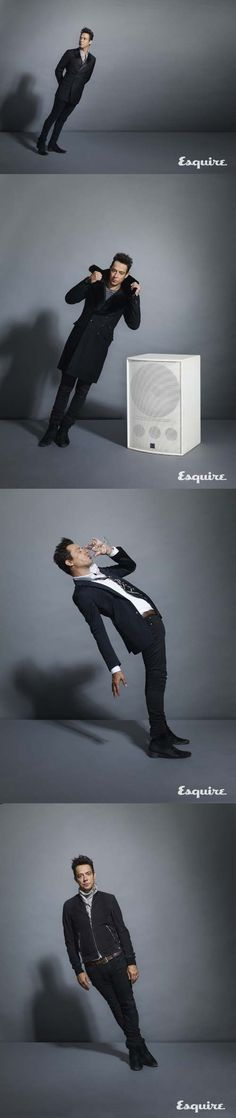 Jamie Hince for the September British edition of Esquire