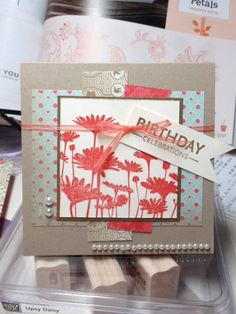 Birthday Celebrations by 3Fries - Cards and Paper Crafts at Splitcoaststampers