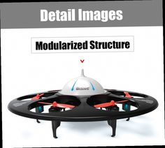 54.49$  Watch here - http://ali1ro.worldwells.pw/go.php?t=32733284275 - Udi 945A RC Quadcopter 2.4G 4CH 6-Axis Gyro RTF Flying Saucer Hexacopter Professional Drone Toy Remote Control UFO Helicopter