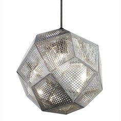 Etch Shade taklampa, rostfritt stål från Tom Dixon – Köp online på Rum21.se