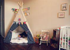 DIY teepee for kids' room
