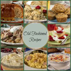 Classic Old-Fashioned Recipes: 42 Old-Fashioned Dinner Recipes, Dessert Recipes, and More | MrFood.com