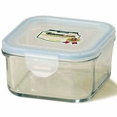 17 oz. Go Green Glasslock Square Container Food w/ Sealable Lid By Kinetic # 1314 by Kinetic Cookware. $10.30. Kinetic Go Green GlassLock is truely unique and innovative. The tempered glass is stain resistant, durable and safe. It is airtight and watertight, keeping the foods locked inside. GlassLock is microwave safe, non-toxic and non-reactive, ensuring nothing transfers into your food while reheating. You can take it from the freezer to the microwave with no concerns. # 1314