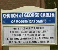 Prophet George Carlin on Religion