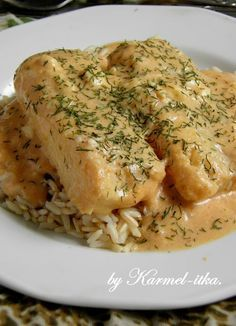 Fish Dishes, Seafood Dishes, Fish And Seafood, Good Food, Yummy Food, Fish Recipes, Food And Drink, Cooking Recipes, Tasty