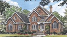 The Hartford House Plans First Floor Plan - House Plans by Designs Direct.