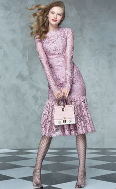 New dress lace pink haute couture Ideas Lace Peplum Dress, Lace Ruffle, Daisy Dress, How To Wear Chokers, Glamorous Dresses, Fashion Photography Inspiration, Just Girl Things, New Dress, Clothes For Women