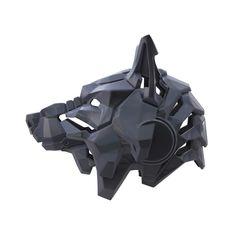 Robot Concept Art, Armor Concept, Robot Art, Helmet Design, Mask Design, Uta Tokyo Ghoul Cosplay, Wolf Helmet, Character Design, 3d Character