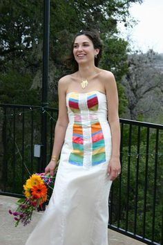 LOVE!!! Maybe with a shawl for winter?  Wai Ching Inca done in ivory, to get an idea of Aztec in ivory.