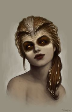 Owl by fdasuarez.deviantart.com on @deviantART Owl Changeling. Its a really neat look.