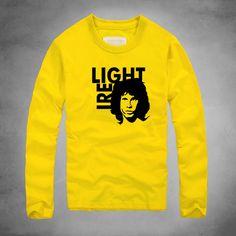 fed703fc5b7 2016 new The Doors Light my Fire Printed Jim Morrison T Shirt Rock Band T-