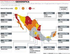 Mapa crimen organizado