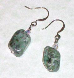 African turquoise earrings from Davy Jones Locker