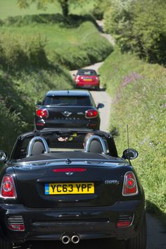 Follow the leader. MINI plays the lane game in the westcountry.