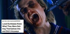 "Just 65 Hilarious Memes About ""Stranger Things"" Season 3 The things Steve does for his children.The things Steve does for his children. Stranger Things Have Happened, Stranger Things Steve, Stranger Things Season 3, Stranger Things Funny, Stranger Things Netflix, Stranger Danger, Joe Keery, Can't Stop Laughing, Movies And Tv Shows"