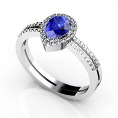 https://www.gemstoneandjewellery.com/shop/925-sterling-silver-ring-natural-tanzanite-7x5mm-faceted-cut-pear-with-beautiful-white-topaz-round-natural-tanznaite-ring-2/