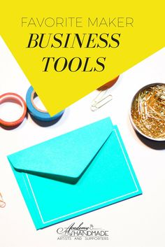 Find out what business tools other makers can't live without!