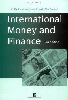 http://financepins.com/international-money-and-finance/ International Money and Finance, Third Edition, is an invaluable resource for advanced undergraduates and postgraduates studying International Economy and Finance.