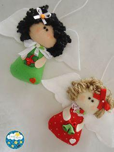 Anjinhos natalinos