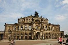 La ópera Semper - Dresden