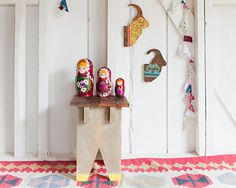 No. 37 {the stool with yellow feet} by 508 Restoration & Design, via Flickr