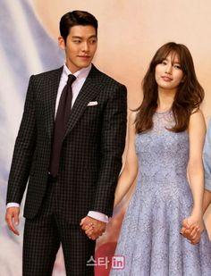 Gets Asked About Shin Min Ah at Uncontrollably Fond Premiere Korean Star, Korean Men, Korean Actresses, Korean Actors, Uncontrollably Fond Kdrama, Korean Celebrities, Celebs, Kim Wo Bin, New Korean Drama
