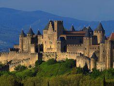 Château et ville fortifiée de Carcassonne. Carcassone 11000. Languedoc