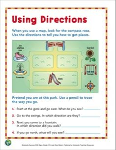 Whose Pot of Gold? Practice directions using the compass rose ...