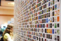 Windows Phone app wall at MIX11