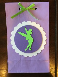 12 Tinkerbell Favor Bags Princess Party Goodie by BannersbyCrystal