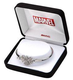 Marvel Comics Agents of Shield Stainless Steel Bangle Bracelet