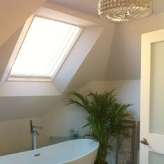 Chandelier or skylight while Bathing is like bathing in a Snow Globe