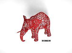 Tired  Red  Elefant   free 3D Model 3D printable by 3d-zakaz