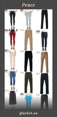 Pence   Shop millions of products from around the web   clothing women pants men denim trousers jeans and casual cropped cotton culottes tailored stripe coats side blazer jackets length crop   glarket.co